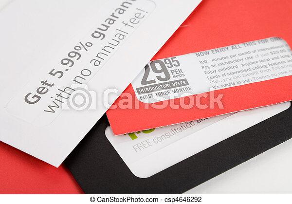 Advertising mail  - csp4646292