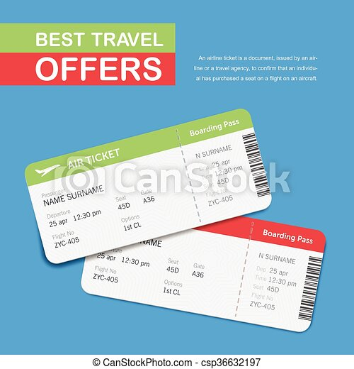 Advertising of the travel agency  Simple text on the banner
