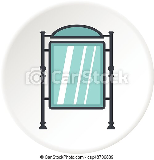 advertising sign icon circle advertising sign icon in flat rh canstockphoto ie advertising clip art free
