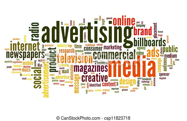 advertising word in tag cloud advertising word concept in tag cloud rh canstockphoto com advertising clip art cd advertising clip art free