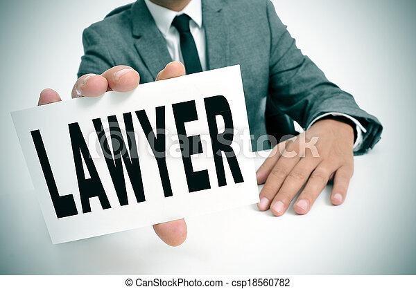 advogado - csp18560782