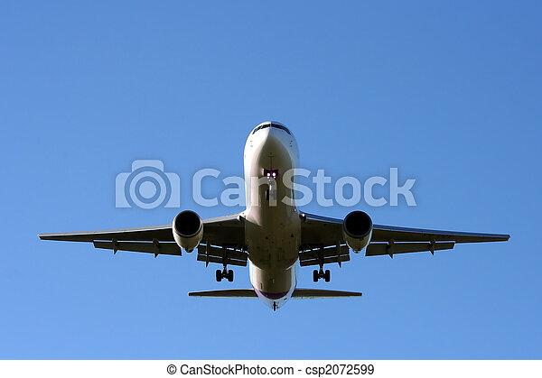aereo, atterraggio - csp2072599