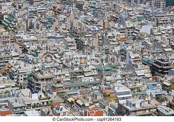 Aerial Athens - csp91264163
