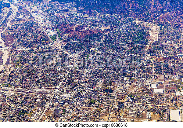 aerial of Los Angeles - csp10630618
