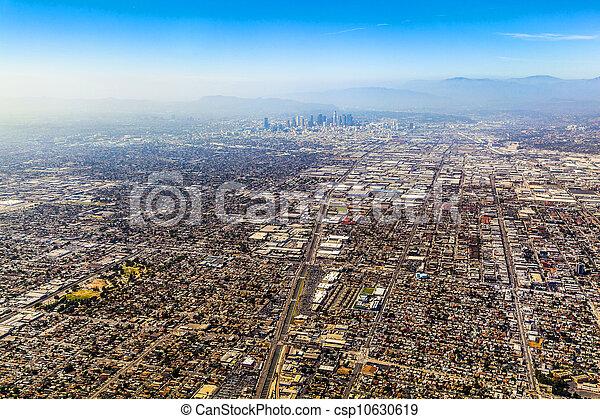 aerial of Los Angeles - csp10630619