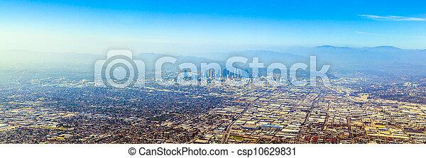 aerial of Los Angeles - csp10629831