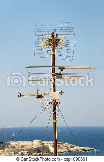 Aerial over Malta - csp1090601