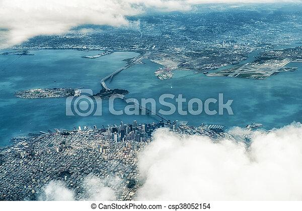Aerial Photograph of San Francisco - csp38052154