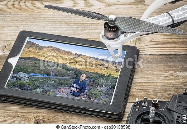 aerial photography concept - csp30138598