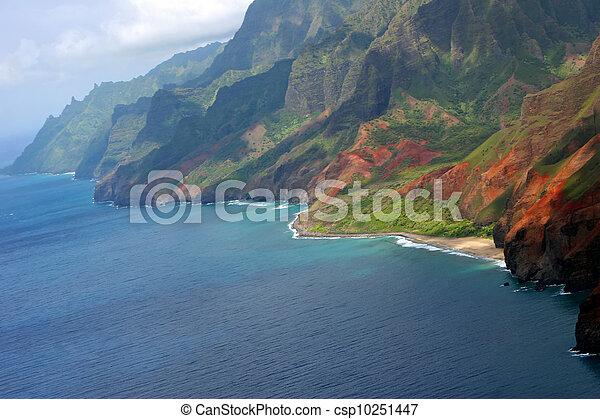 Aerial View Kauai - csp10251447