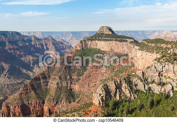 Aerial view of Grand Canyon National Park in Arizona - csp10546409