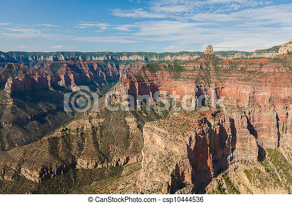 Aerial view  of Grand Canyon National Park in Arizona  - csp10444536