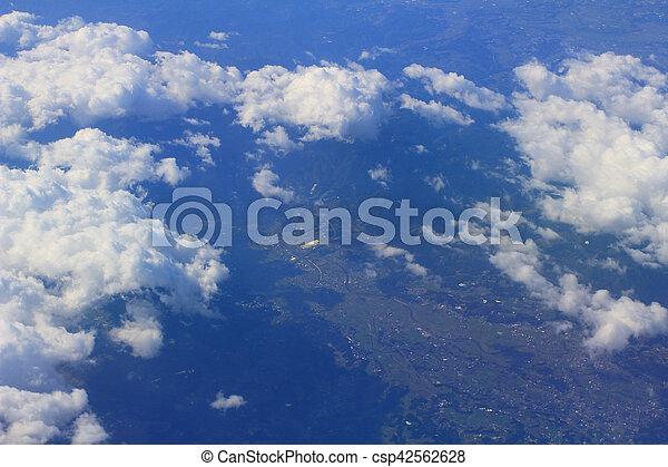 Aerial View Of Japan - csp42562628