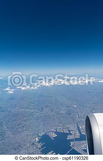 Aerial View of Japan - csp61190326