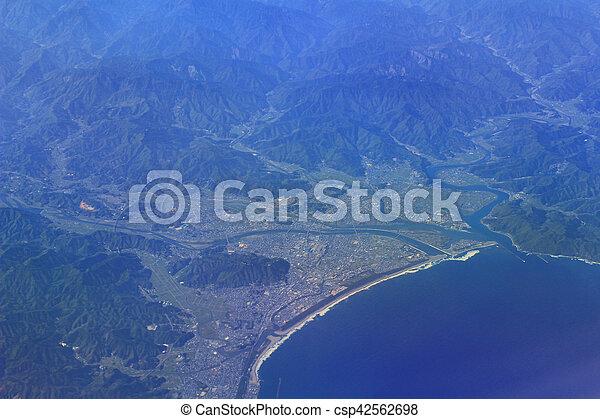 Aerial View Of Japan - csp42562698