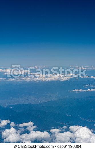 Aerial View of Japan - csp61190304