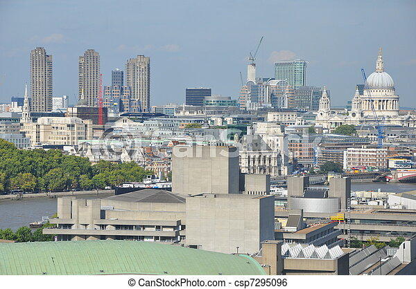 Aerial View of London - csp7295096