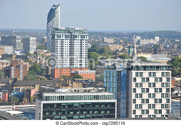Aerial View of London - csp7295116
