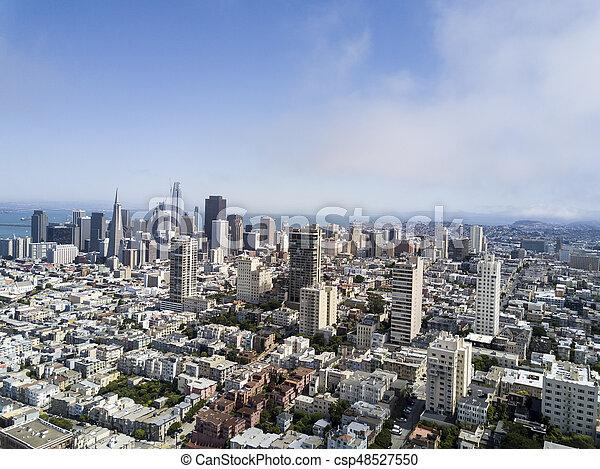 Aerial View of San Francisco - csp48527550