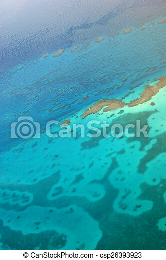 Aerial view of the Red Sea - csp26393923