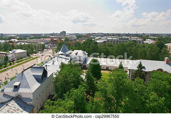 Aerial view  - csp29967550