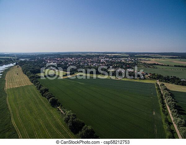 Aerial view - csp58212753
