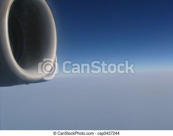 Aerial view - csp0437244
