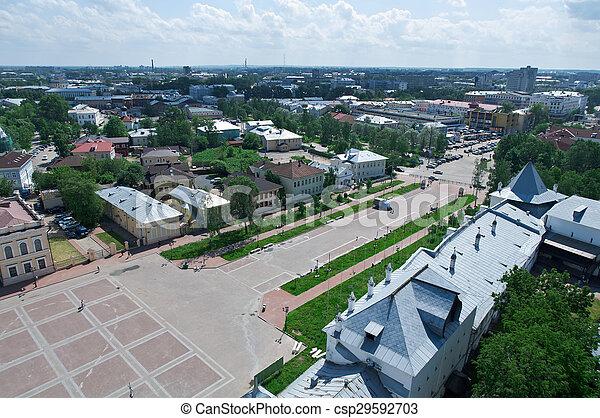 Aerial view - csp29592703