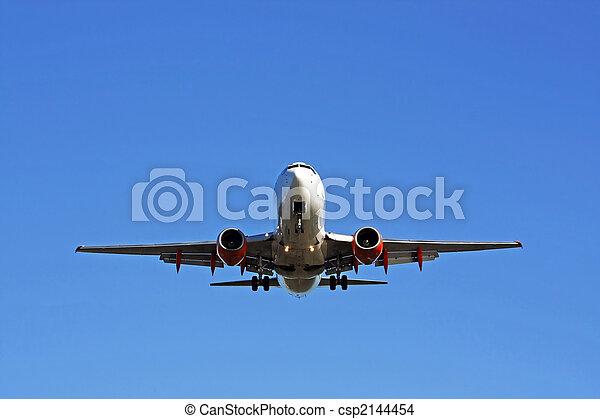 aeroplano commerciale - csp2144454