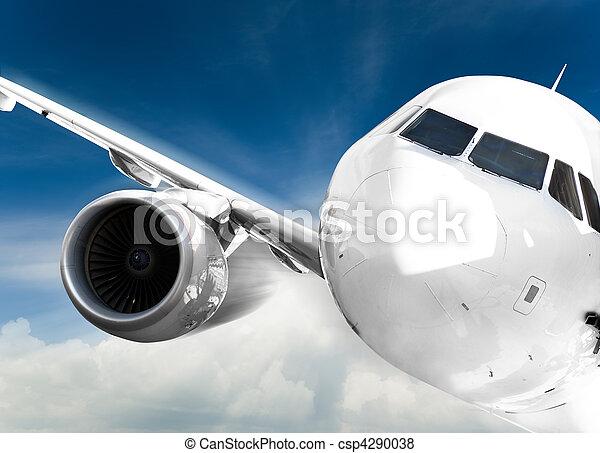 aeroplano, digiuno - csp4290038