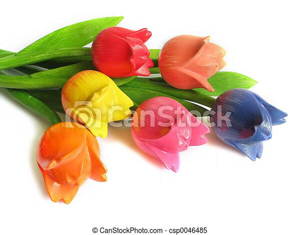 af træ, blomster - csp0046485