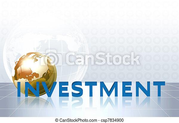 affär, -, investering, begrepp, ord - csp7834900