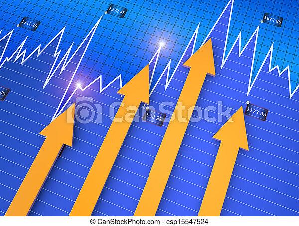 affär, marknaden, kartlägga - csp15547524