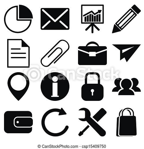 affärsverksamhet ikon - csp15409750
