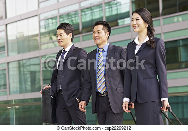 affaires asiatiques, équipe - csp22299212
