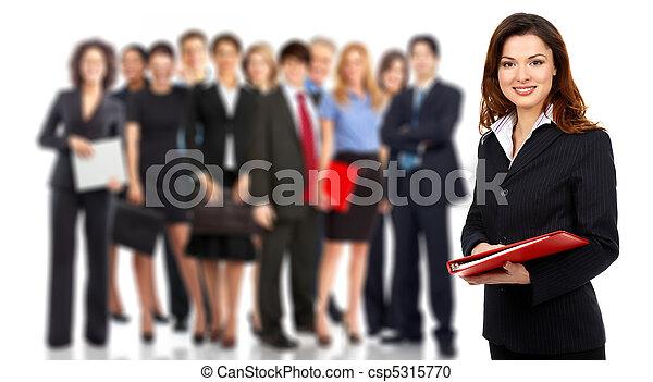 affaires gens, équipe - csp5315770