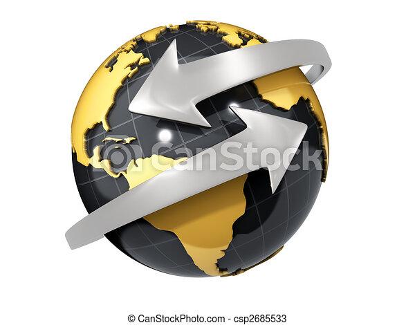 affaires globales - csp2685533