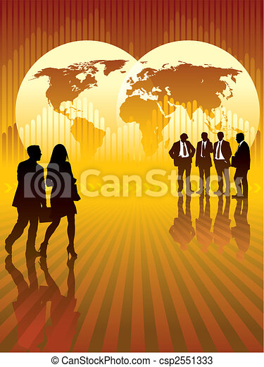 affaires globales - csp2551333