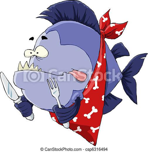 affamato, piranha - csp6316494