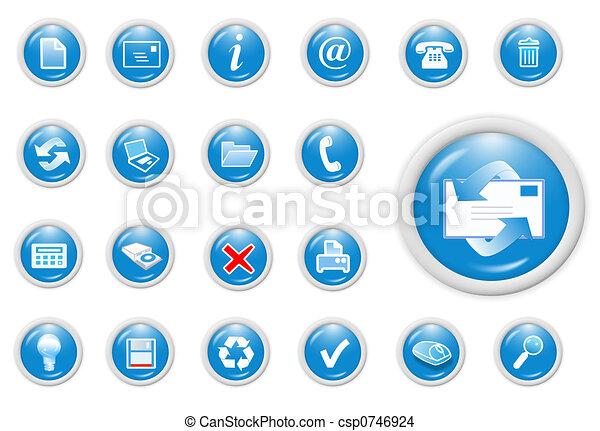 affari, icona - csp0746924