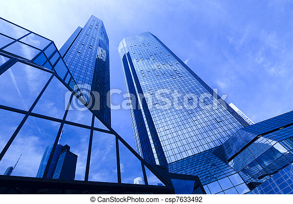 affari moderni, costruzione - csp7633492