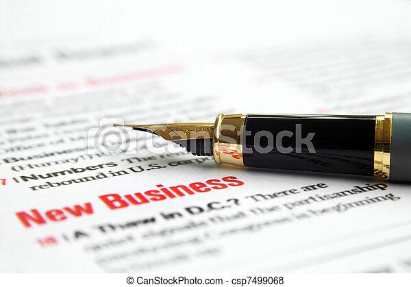 affari nuovi - csp7499068