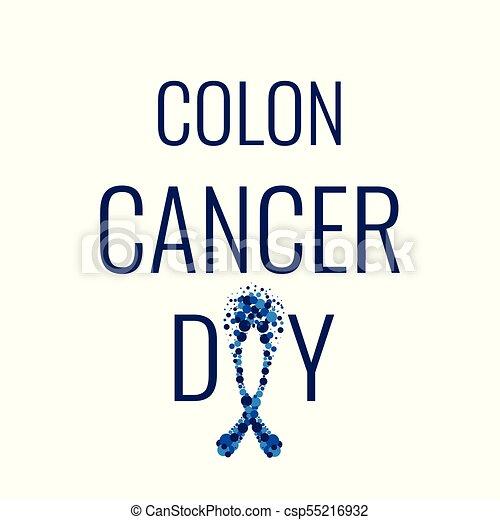 affiche, deux points, jour, cancer - csp55216932