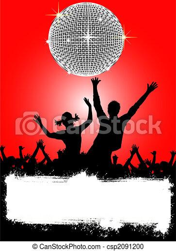 affiche, disco - csp2091200