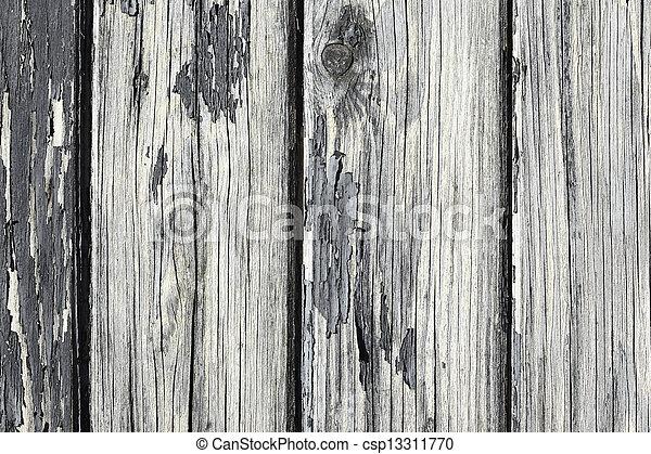 affligé, bois, vieux - csp13311770
