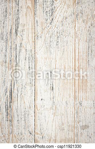 affligé, peint, bois, fond - csp11921330