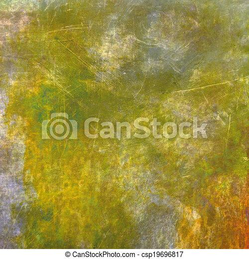 afflitto, sfondo giallo, struttura - csp19696817