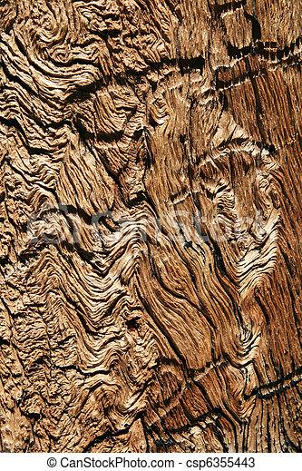 afligido, grão madeira - csp6355443