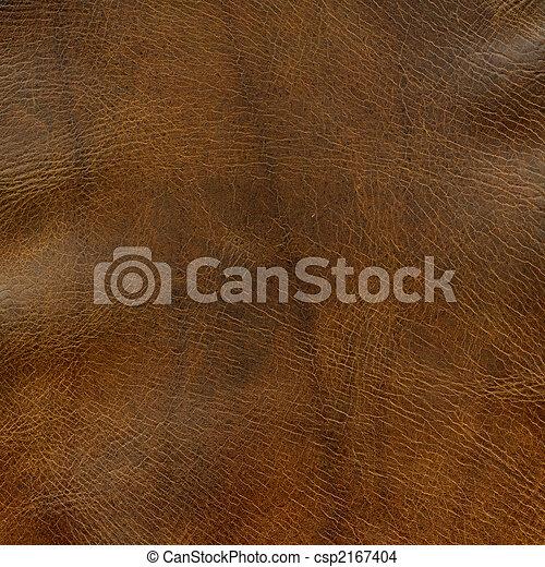 afligido, marrom, couro, textura - csp2167404