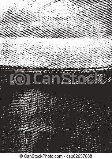 afligido, vaqueros, textura, cubrir - csp62657688